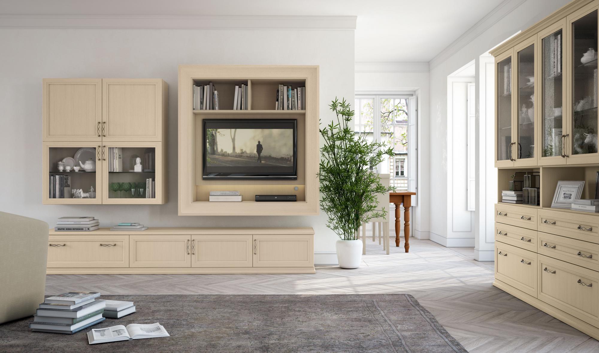 Soggiorni Classici | Arredamenti Bertoglio Cristina - Cremona